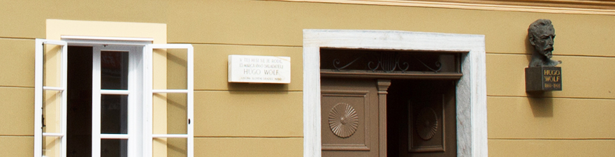 The birth House of Hugo Wolf